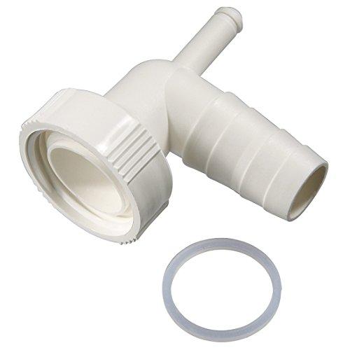 Xavax Dualer Siphonanschluss zum Anschluss von Kondenstrockner und Waschmaschine am Siphon Waschmaschine Anschluss