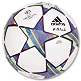 adidas Fußball Finale 11 - UCL Official Match, white/ultra lilac metallic, 5