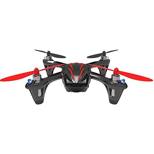 Hubsan Drohne H107C X4 Quadrocopter 2.4 Ghz 4 Kanal mit 480P Kamera (Rot Schwarz) - 4