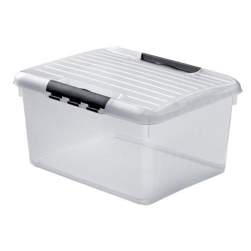 Curver Multibox Optima mit Deckel, 30L, 42x33 cm, Aufbewahrungsbox