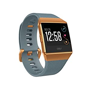 Fitbit Ionic Smartwatch, Slate Blue/Burnt Orange