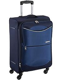 American Tourister Brookfield Polyester 68.5 cms Marine Blue Suitcase (AMT Brookfield SP68 Marine BLU)
