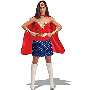 Carnival Toys - Disfraz Super woman en bolsa, talla única, multicolor (80917)