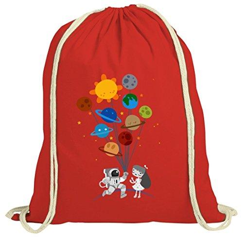 Idea Regalo Natura Borsa Con San Valentino Amore Motiv Da Natura Rosso Shirttreet