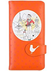 Porte cartes crédit Parisienne Hype Orange