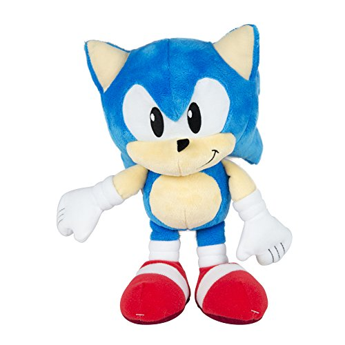 Sonic The Hedgehog T22527A Classic 25th Anniversary Plush Toy, 12-Inch