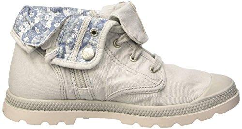 Palladium Unisex-Kinder Bgy Low Zi Lp K Sneaker Grau - Gris (D33 Lunar Rock/Cement Gray)