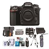 Nikon D500DX DSLR Body–Paket mit 32GB SDHC U3, Holster Tasche, Stativ, Akku, Fernbedienung Fernauslöser, Memory Brieftasche, Reinigungsset, Kartenleser, Software-Paket