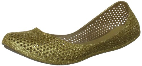 Snow Lizard  Mango, Ballerines femme Or - oro (Gold Glitter)