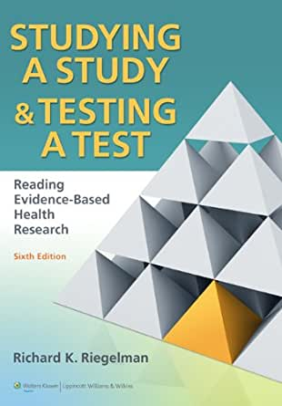 studying a study and testing a test free download