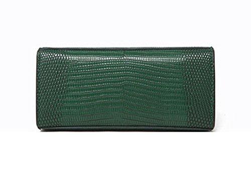 Comprar Barato Barato Venta Barata Disfrutar Borsa A Tracolla Messenger Mini In Pelle PU Borse A Tracolla Piccola In Pelle Crossbody Bag (rosso Verde Nero) Green Venta Imágenes Baratas 7N2z4