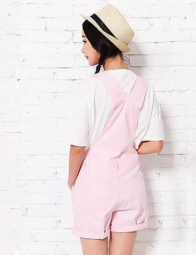 GSP-Rue occasionnel des femmes Plan Salopette Short pink-m