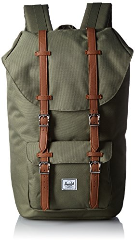 Herschel Supply Company SS16 Casual Daypack, 25 Liters, Deep Litchen Green/ Tan