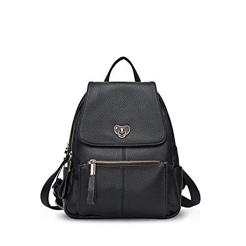 NICOLEDORIS-New-Women-School-College-Travel-Outdoor-Shoulder-Bag-Backpack-Waterproof-Soft-PU-Leather