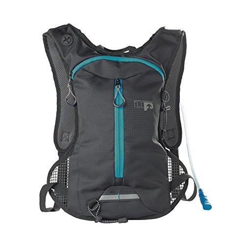Ultimate Performance 2016 Tarn 1.5L Performance Hydration Sports Pack Training Backpack/Rucksack Bag Charcoal/Aqua - Aqua Hydration Pack