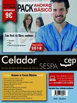 PACK AHORRO BASICO. Celador del Servicio de Salud del Principado de Asturias. SESPA. (Incluye Temario y Test general, Temario y Test específico y Simulacros) por Editorial CEP