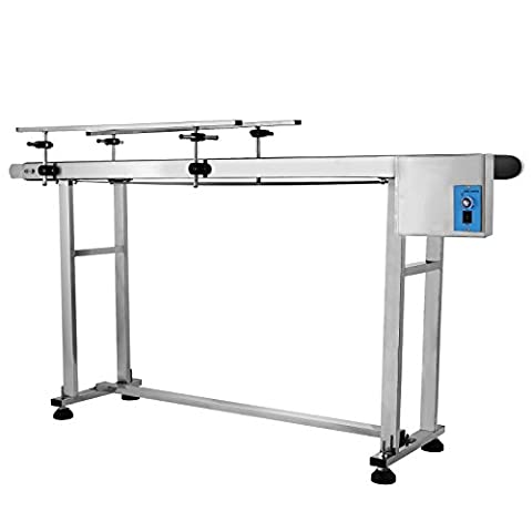 succebuy Gürtel BAFA 149,9x 19,8cm Förderband 0–82FT/min einstellbar BAFA Tisch High antistatisch PVC mit doppelt -