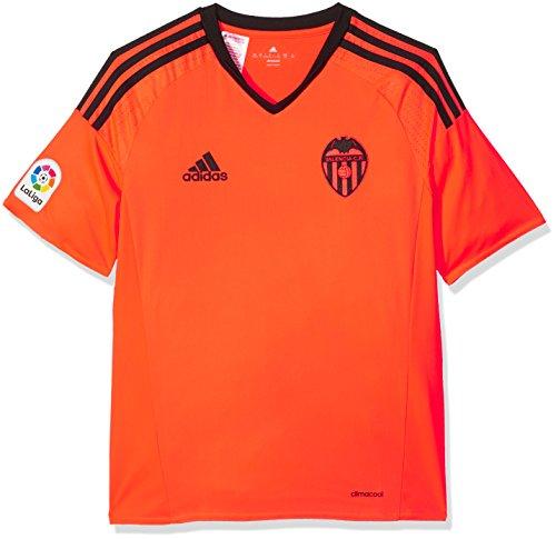 Adidas 3ª Equipación Valencia CF Camiseta, Niños, Naranja (Narsol), 11-12 años