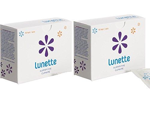 LUNETTE Reinigungstücher 2er-Pack (2x 10 Stück)