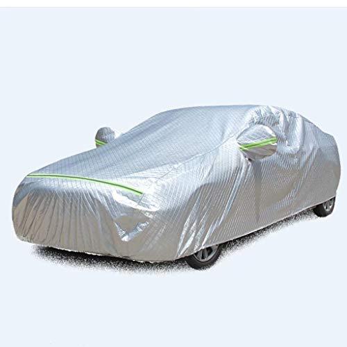 fscz Copertura per Auto Protezione Solare Esterna antigelo Antipioggia Quattro Stagioni Copertura Universale per Auto Esterna Impermeabile Parasole per Auto 490X180X150