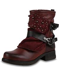 Suchergebnis auf Amazon.de für  rote biker  Schuhe   Handtaschen df890db80d