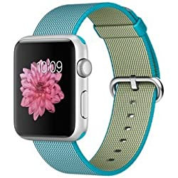 "Apple Watch Sport 1.5"" OLED Plata Reloj Inteligente - Relojes Inteligentes (3,81 cm (1.5""), OLED, Pantalla táctil, 18 h, 30 g, Plata)"