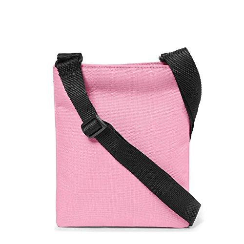 Eastpak Rusher Borsa Messenger, 2 Litri, Blu (Silent Blue) Rosa (Powder Pink)
