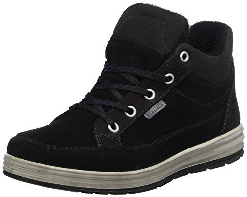 RICOSTA Jungen Patrick Hohe Sneaker, schwarz, 00039 EU