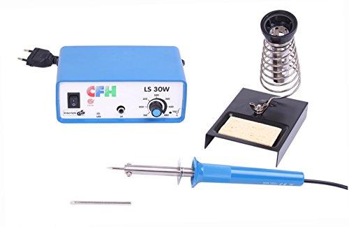 elektronische Lötstation LS 30 von CFH, stufenlos regelbar (150 °C bis 450 °C), 30 Watt (Devices Surface Mounted)