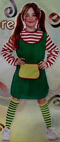 Kinder Mädchen Kostüm Verkleidung Fasching FRECHE GÖRE Grösse 116 (Goer Party Kostüm)