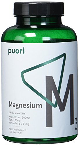 M3 [ Reines Magnesium 300 mg + Zink 15 mg + Vitamin B6 Kapseln + Äpfelsäure ] 120 Hochdosiert Sportnahrung Muskelaufbau, Anti Müdigkeit Tabletten
