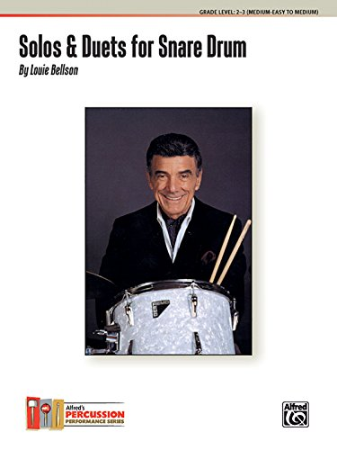 Bellson Louie Solos and Duets for Snare Drum 1924-2009 Book