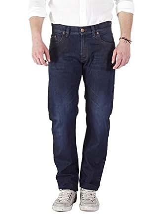 Carrera Jeans Jeans 707 per uomo, modello dritto, look denim, vestibilità normale, vita regular