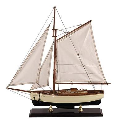 Authentic Models Schiff 1930er Classic Yacht, klein , authentische Schiffmodelle