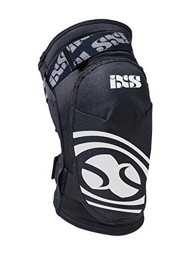 IXS adulto knee Guard hack, Unisex, Knee Guard Hack, nero, XS