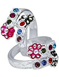 CS Jewellers Passion Silver Toe Ring