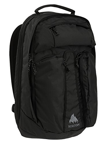 Burton Curbshark Mochila, Unisex Adulto, Negro (True Black Heather Twill), Talla Única