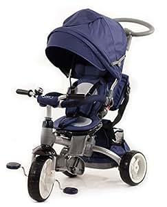 Baby 's Clan Dreirad/Kinderwagen Toilettentrainer 6in 1Blau