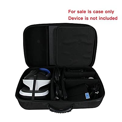 Hard EVA Travel Case for Sony PlayStation VR Launch Bundle & PS4 Pro Console by Hermitshell from Hermitshell