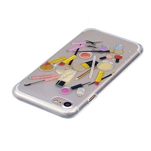 Cover iPhone 7, CaseLover Custodia per iPhone 7 (4.7 Pollici) Ultra Sottile Trasparente Morbida Gomma Gel TPU Silicone Protectiva Corpeture Flessibile Cristallo Chiaro Liscio Antiurto Protezione Bumpe Cosmetico