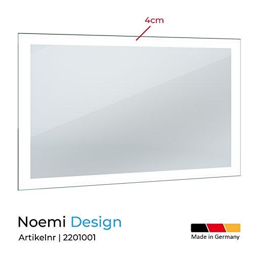 LED Badspiegel mit Beleuchtung 130 cm - 2