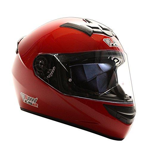 Speed Racewear LS2Rookie Ff352integrale Casco Rosso-Edizione Speciale Kart & Moto Casco