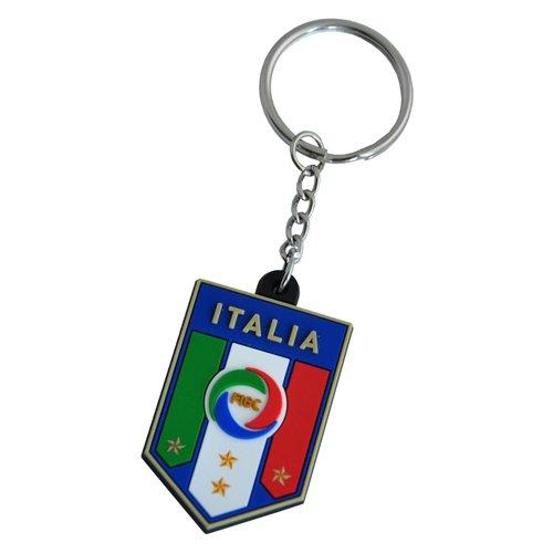 FIGC ITALIA PORTACHIAVI UFFICIALE NAZIONALE ITALIANA IN GOMMA - FIGC ITALIA OFFICIAL RUBBER KEYCHAIN