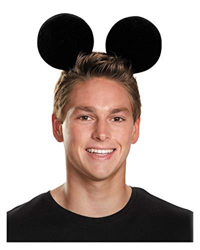 Horror-Shop Disney Mickey Mouse Ohren für Fasching und Karneval