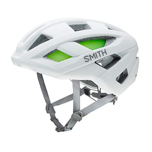 Smith Optics Route Casco, Unisex Adulto, Blanco (Matte), 55-59/M