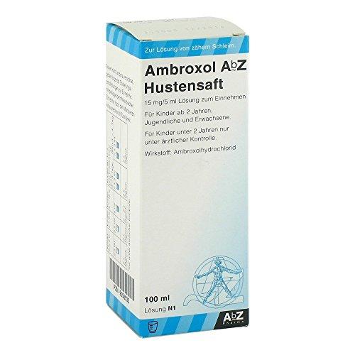 AMBROXOL AbZ Hustensaft 15mg/5ml Loesung zum.Einn. 100ml