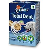 Brekkies Snack para Perro Maxi Total Dent - 1080 gr (4 paquetes de X 7 palos) (Paquete de 2)