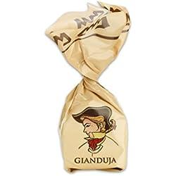 Praline al Gianduja - Confezione da 10 cioccolatini artiginali piemontesi - 200 g