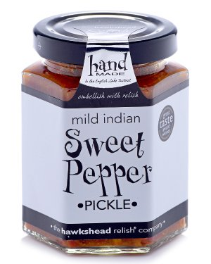 Mild Sweet Pepper Pickle - 190g