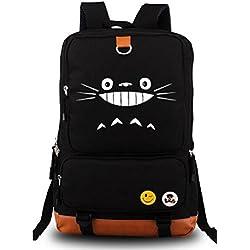 Anime My Neighbor Totoro Sac à dos Cosplay sur toile pour sac à dos d'école Sac à bandoulière